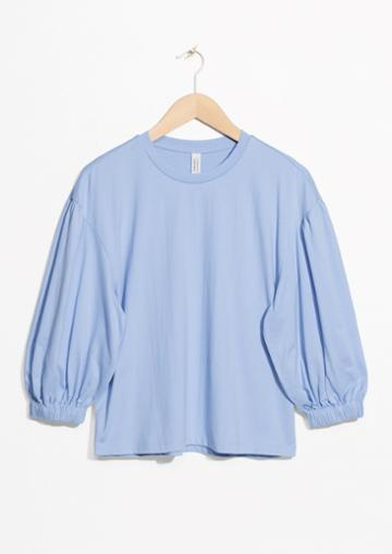 Other Stories Puff Sleeve Top