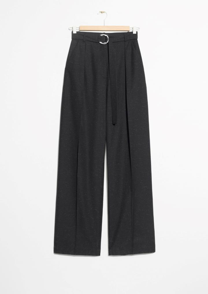 Other Stories Belted Trousers