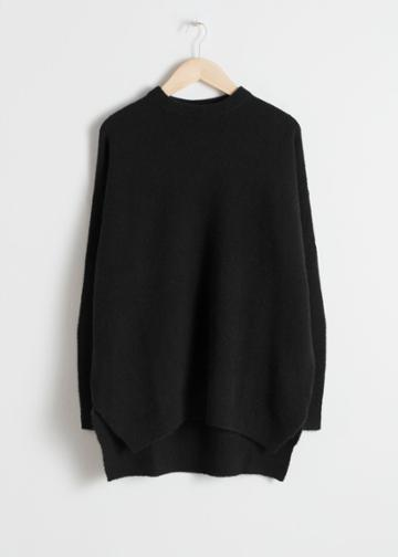 Other Stories Wool Sweater - Black