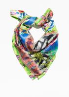 Other Stories Summer Print Scarf - Yellow
