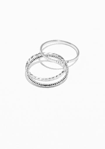 Other Stories Tripple Rings