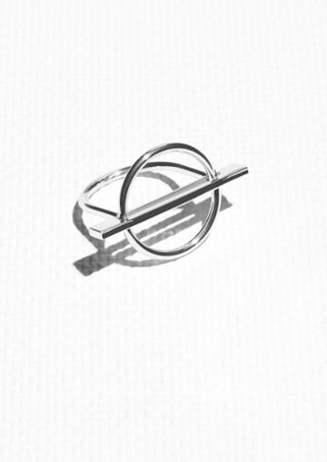 Other Stories Geometric Shapes Ring