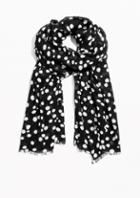 Other Stories Polka Dot Scarf