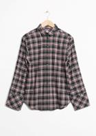 Other Stories Check Cotton Shirt
