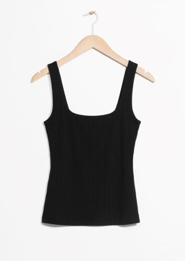 Other Stories Ribbed Tank Top