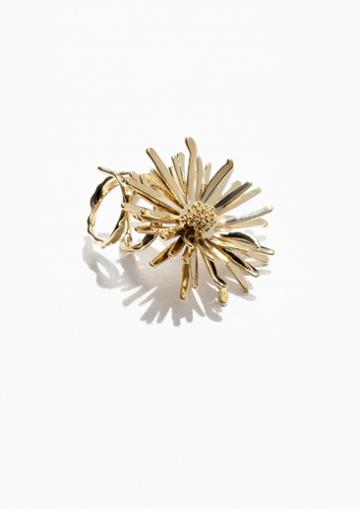 Other Stories Flower Bomb Ring