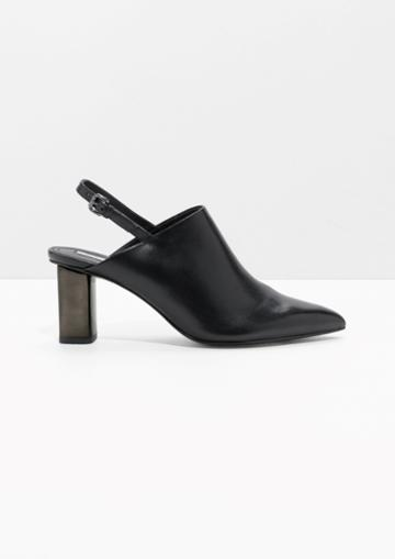 Other Stories Pointed Slingback Mules