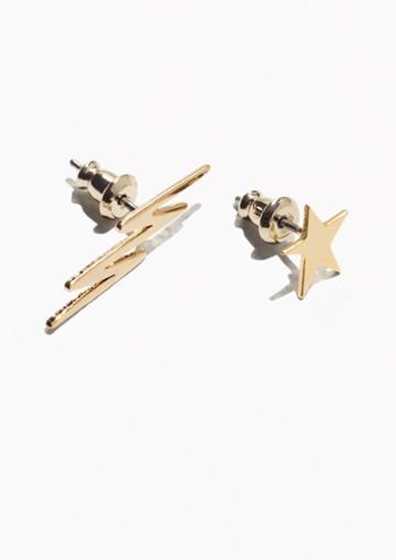 Other Stories Sky Stud Earrings