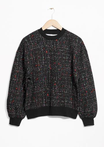 Other Stories Cropped Voluminous Sweater