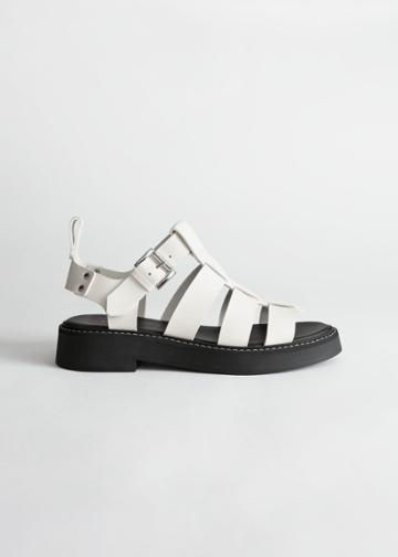 Other Stories Chunky Gladiator Sandals - White