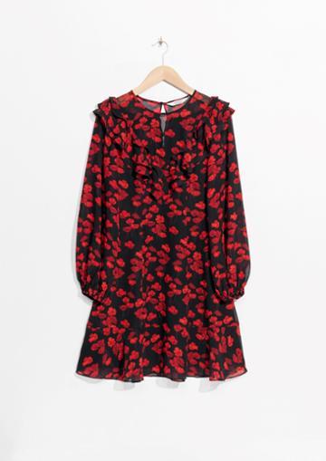 Other Stories Poppy Print Dress