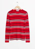 Other Stories Striped Knit Top