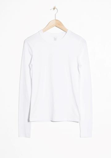 Other Stories Organic Cotton Long Sleeve Shirt