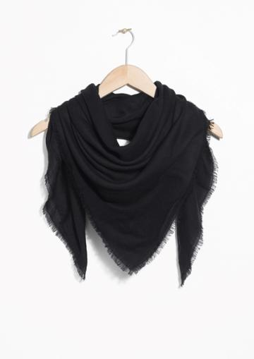 Other Stories Triangle Scarf