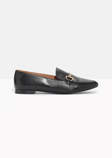 Other Stories Horsebit Buckle Loafers