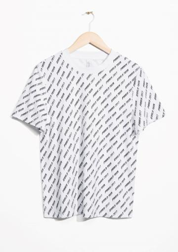 Other Stories Paris World Tour T-shirt