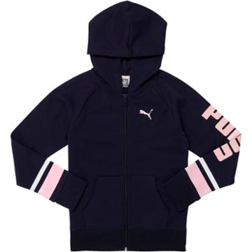 Licence Ctn Fleece Zip Up Raglan Hoo