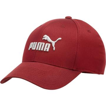 Puma No. 1 Logo Embroidered Fitted Cap
