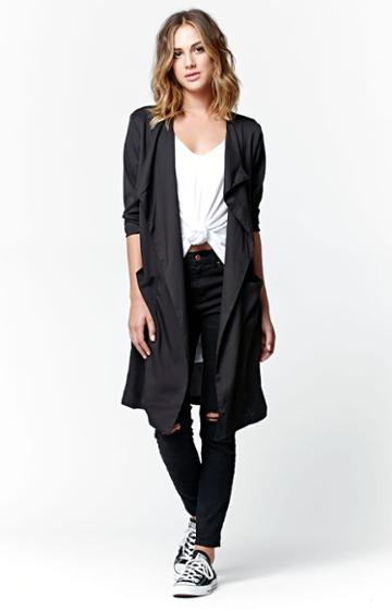 Lira Windswept Duster Coat