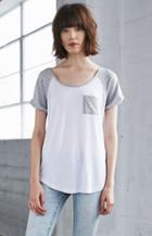Me To We Colorblock Raglan T-shirt