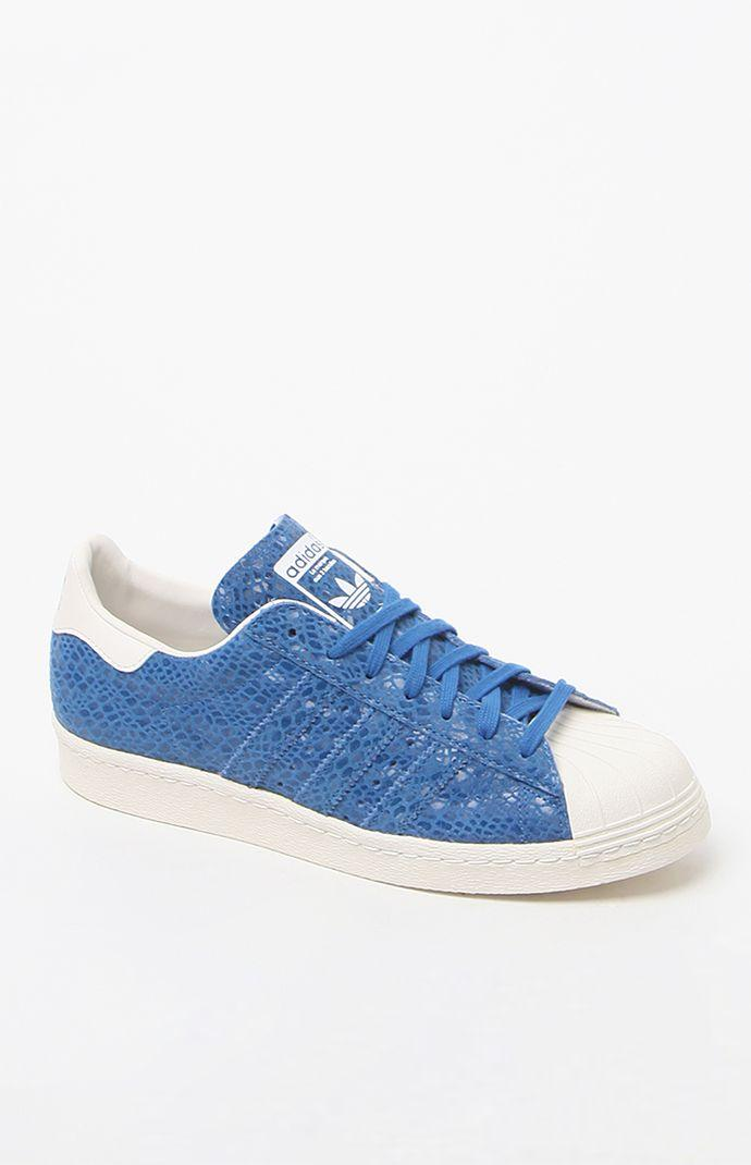 Adidas Superstar 80's Blue Low-top Sneakers