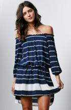 Faithfull The Brand Wanderer Stripe Dress
