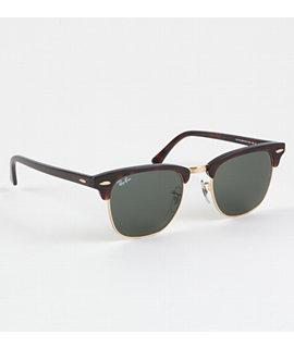 Ray Ban Sunglasses - Mens - Ray Ban Club Master Tortoise Sunglasses