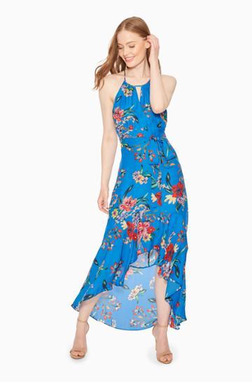Parker Ny Davina Floral Dress