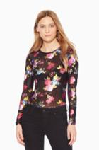 Parker Ny Gianna Floral Top