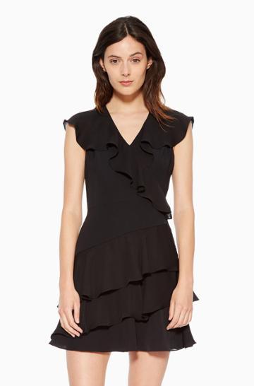 Https:/www.parkerny.com/topaz-dress/p8g4781mc.html Parker Ny Topaz Dress Black, Size 2