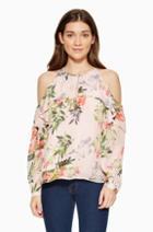 Parker Ny Suzette Floral Blouse