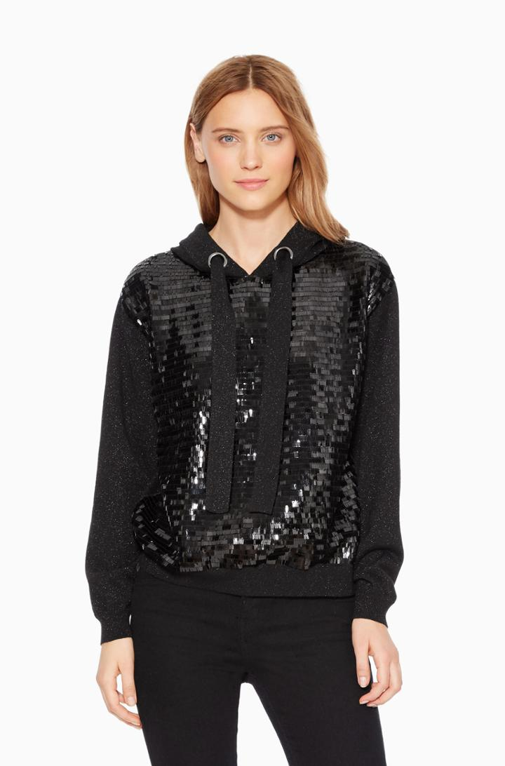 Parker Ny Nolan Sequined Sweater