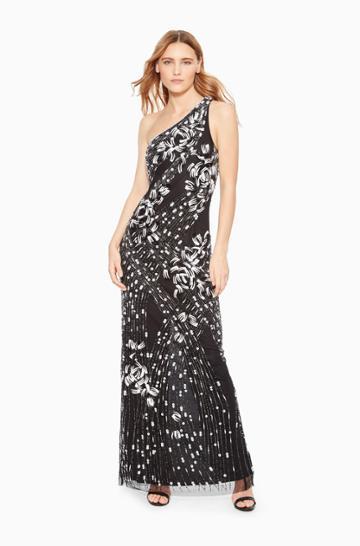 Parker Ny Tasha One-shoulder Dress
