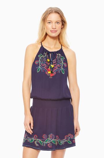 Https:/www.parkerny.com/daiquiri-dress-/s7l3687mau.html Parker Ny Daiquiri Dress Multi, Size Small