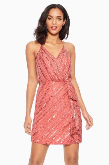 Parker Ny Shay Beaded Dress