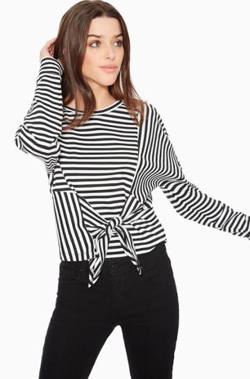 Parker Ny Nanette Striped Top