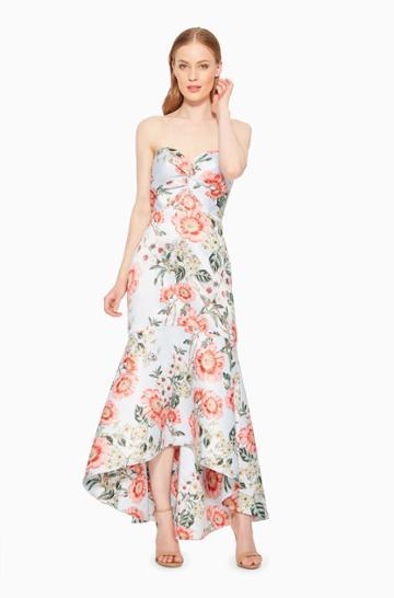 Parker Ny Lilac Floral Dress