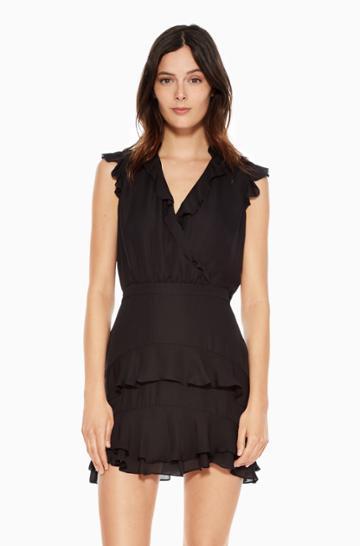 Https:/www.parkerny.com/tangia-dress/p8b4465ge.html Parker Ny Tangia Dress Black, Size 10
