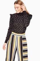 Parker Ny Marlee Peplum Sweater