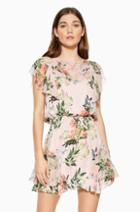 Parker Ny Acadia Combo Floral Dress