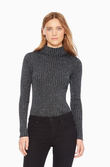Parker Ny Dolce Metallic Sweater