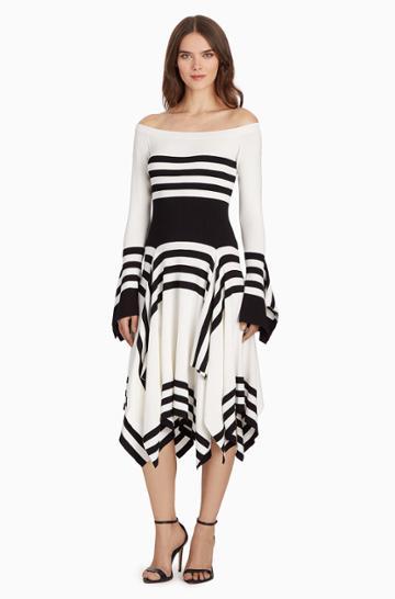 Parker Ny Lance Knit Dress