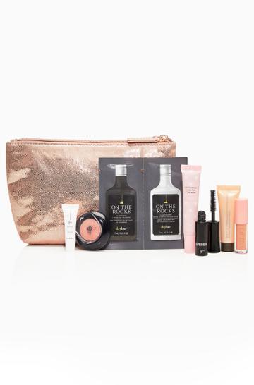 Parker Ny Rose Gold Beauty Bag
