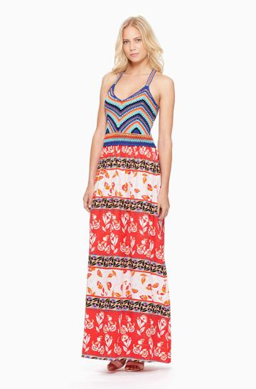 Parker Ny Goldie Maxi Dress