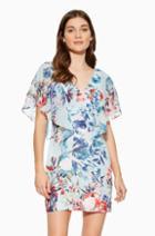 Parker Ny Reba Combo Dress
