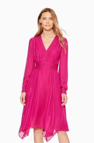 Https:/www.parkerny.com/evanna-dress/p8j4952sb.html Parker Ny Evanna Dress Dark Azalea, Size 0