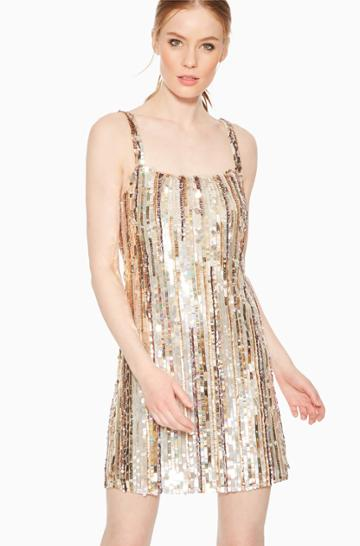 Parker Ny Nava Sequin Dress