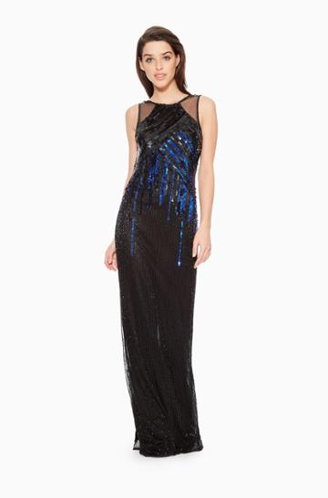 Parker Ny Mona Beaded Dress