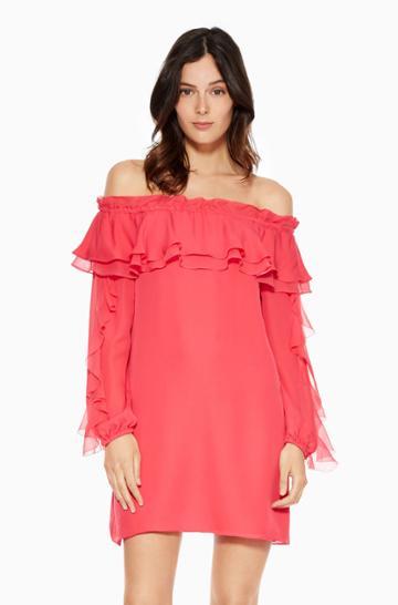 Parker Ny Isa Combo Dress