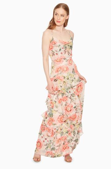 Parker Ny Devany Floral Dress